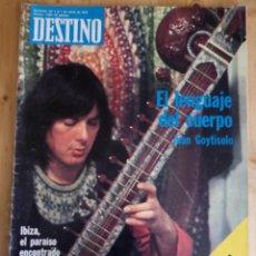 Coleccionismo de Revista Destino: REVISTA DESTINO Nº 1996 - ENERO 1976 - SUMARIO EN FOTO. Lote 154301462