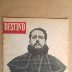 Coleccionismo de Revista Destino: DESTINO. AZORIN, AZORIN EN MALLORCA, ZIELGFELD, OLGA SACHAROFF.. Lote 155266050
