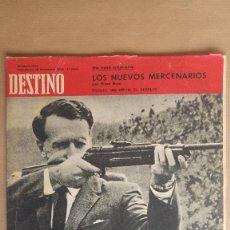 Coleccionismo de Revista Destino: DESTINO. IAN SMITH, EUGENIO D'ORS, REFERENDUM, MAURICE DE PARIS, CASIANO MARIA JUST ABAD MONTSERRAT. Lote 155285862