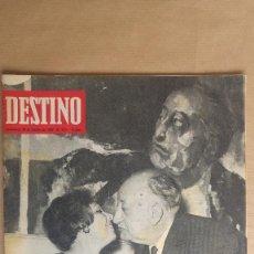Coleccionismo de Revista Destino: DESTINO. MIGUEL ANGEL ASTURIAS NOBEL LITERATURA, BAUHAUS, JOSEP M. SUBIRATCHS. Lote 155288002