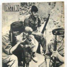 Coleccionismo de Revista Destino: DESTINO - REVISTA Nº 1003 - OCTUBRE 1956. Lote 158208050