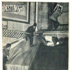 Coleccionismo de Revista Destino: DESTINO - REVISTA Nº 1006 - NOVIEMBRE 1956. Lote 158208194
