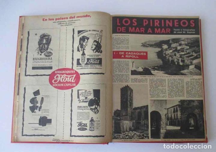 Coleccionismo de Revista Destino: NUEVE REVISTAS DESTINO - ENCUADERNADAS EN TOMO - AÑO 1960 - Foto 3 - 166088354