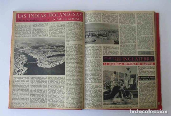 Coleccionismo de Revista Destino: NUEVE REVISTAS DESTINO - ENCUADERNADAS EN TOMO - AÑO 1960 - Foto 6 - 166088354