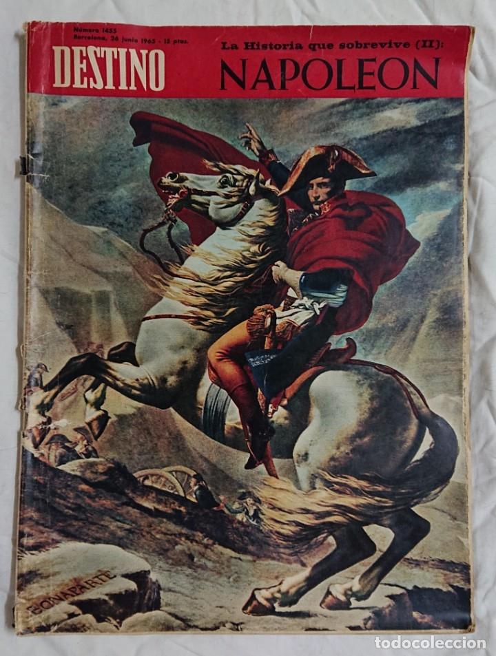Coleccionismo de Revista Destino: Lote 4 Números DESTINO Vintage Años 60 - Foto 3 - 161300278