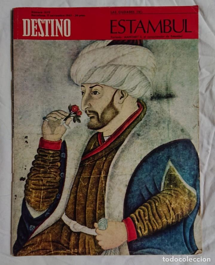 Coleccionismo de Revista Destino: Lote 4 Números DESTINO Vintage Años 60 - Foto 4 - 161300278