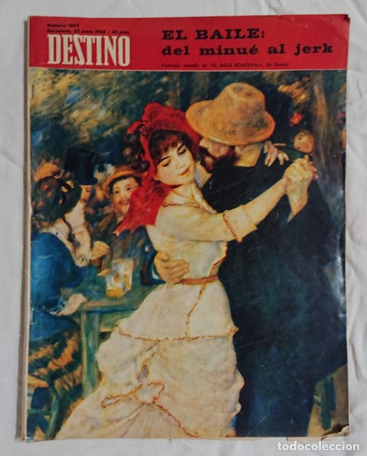 Coleccionismo de Revista Destino: Lote 4 Números DESTINO Vintage Años 60 - Foto 5 - 161300278