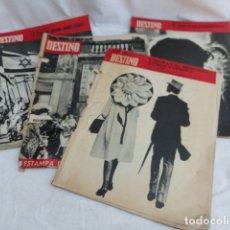 Coleccionismo de Revista Destino: 4 REVISTAS DESTINO. AÑO 1967.. Lote 172421107