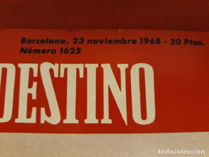 Coleccionismo de Revista Destino: REVISTA DESTINO DE NOVIEMBRE DE 1968 ,ESPECIAL AÑO MIRÓ - Foto 3 - 172812512