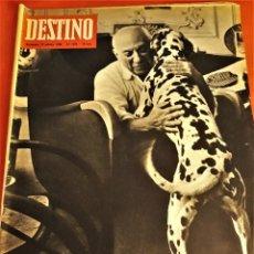 Coleccionismo de Revista Destino: REVISTA DESTINO DE OCTUBRE DE 1966 ,PICASSO. Lote 172812908