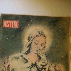 Coleccionismo de Revista Destino: PERIODICO DESTINO ( NUMERO EXTRAORDINARIO NAVIDAD). Lote 175527384
