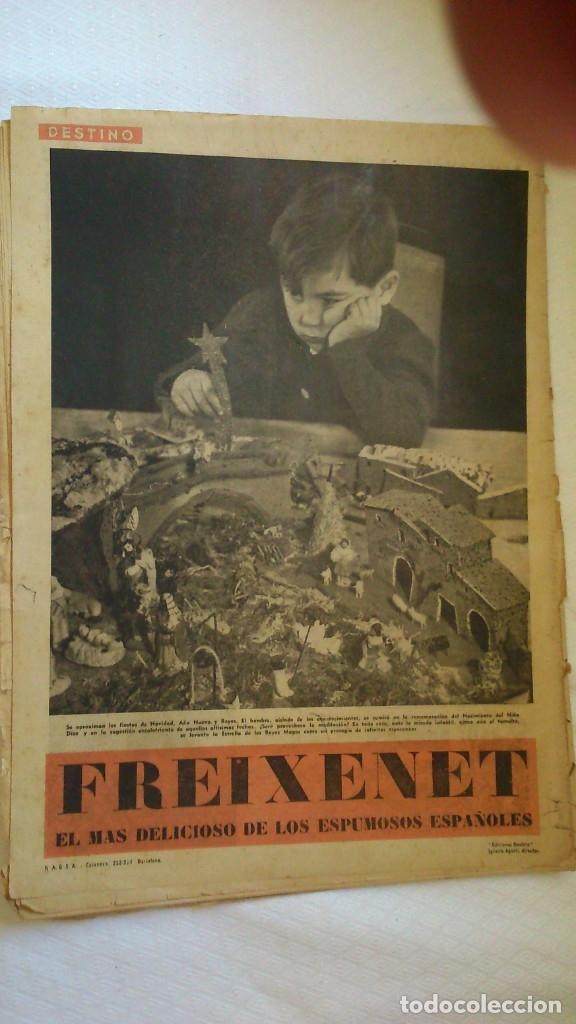 Coleccionismo de Revista Destino: perodico destino ( numero extraordinario de navidad) año 1941 - Foto 2 - 175528582