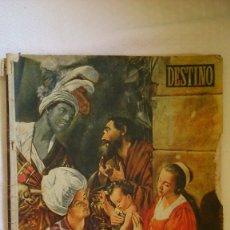 Coleccionismo de Revista Destino: PERIODICO DESTINO AÑOS 1940 ( NUMERO NAVIDAD). Lote 175530664