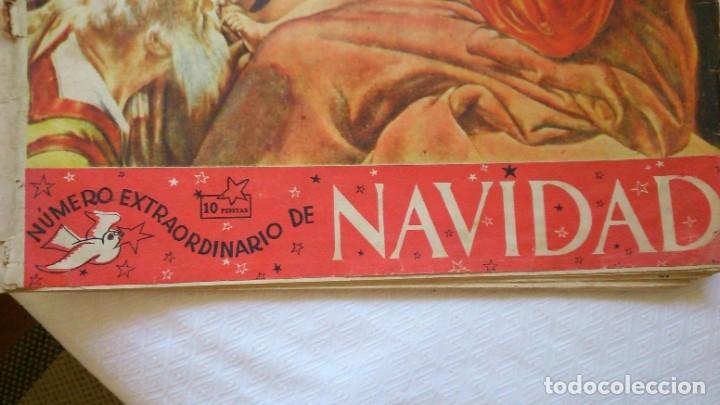 Coleccionismo de Revista Destino: periodico destino años 1940 ( numero navidad) - Foto 2 - 175530664