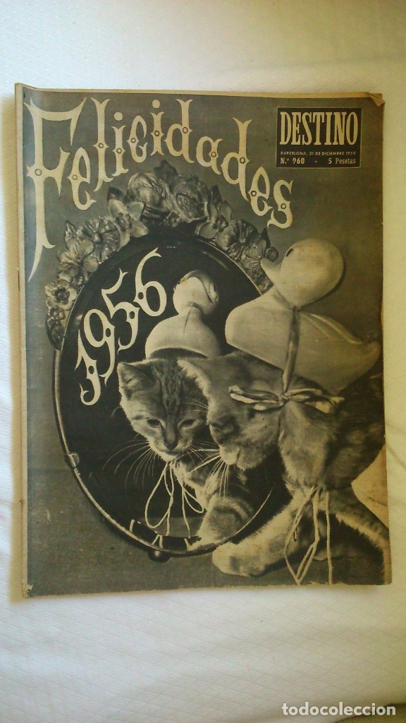 PERIODICO DESTINO AÑO 1956 (Coleccionismo - Revistas y Periódicos Modernos (a partir de 1.940) - Revista Destino)