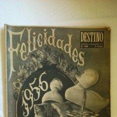 Coleccionismo de Revista Destino: PERIODICO DESTINO AÑO 1956. Lote 175531039