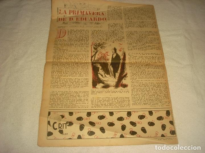 Coleccionismo de Revista Destino: DESTINO N. 331 . 20 DE NOVIEMBRE DE 1943 . EN PORTADA LA GUERRA EN ITALIA. - Foto 2 - 177374668