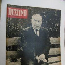 Coleccionismo de Revista Destino: REVISTA DESTINO - 48 REVISTAS AÑO 1967 - Nº 1535-1582 - DESPUES DEL Nº 1582 FUE CLAUSURADA. Lote 178084854