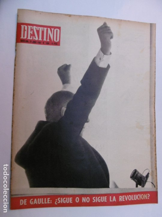 Coleccionismo de Revista Destino: 48 REVISTA DESTINO - NUMEROS 1583 AL 1630 - AÑO 1968 - Nº 1583 PRIMERO DESPUES DE LA CLAUSURA - Foto 6 - 178226256