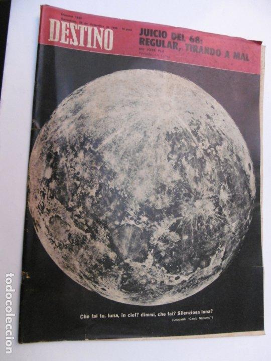 Coleccionismo de Revista Destino: 48 REVISTA DESTINO - NUMEROS 1583 AL 1630 - AÑO 1968 - Nº 1583 PRIMERO DESPUES DE LA CLAUSURA - Foto 7 - 178226256