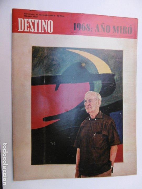 Coleccionismo de Revista Destino: 48 REVISTA DESTINO - NUMEROS 1583 AL 1630 - AÑO 1968 - Nº 1583 PRIMERO DESPUES DE LA CLAUSURA - Foto 8 - 178226256