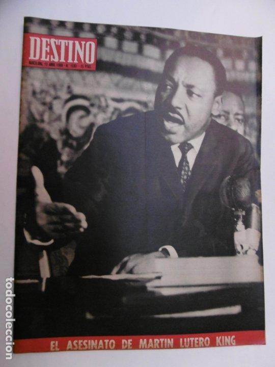 48 REVISTA DESTINO - NUMEROS 1583 AL 1630 - AÑO 1968 - Nº 1583 PRIMERO DESPUES DE LA CLAUSURA (Coleccionismo - Revistas y Periódicos Modernos (a partir de 1.940) - Revista Destino)