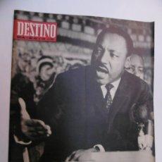 Coleccionismo de Revista Destino: 48 REVISTA DESTINO - NUMEROS 1583 AL 1630 - AÑO 1968 - Nº 1583 PRIMERO DESPUES DE LA CLAUSURA. Lote 178226256