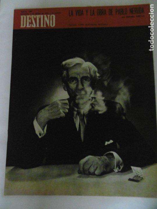 Coleccionismo de Revista Destino: REVISTA DESTINO - 49 REVISTAS - AÑO 1970 - FALTN LOS Nº 1711 Y 1718. - Foto 2 - 178287043