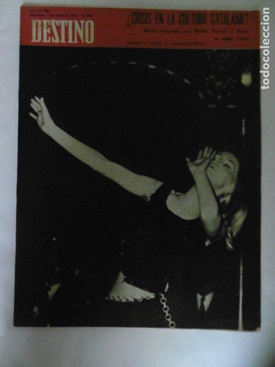 Coleccionismo de Revista Destino: REVISTA DESTINO - 49 REVISTAS - AÑO 1970 - FALTN LOS Nº 1711 Y 1718. - Foto 3 - 178287043