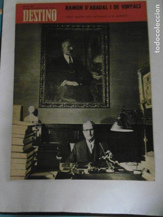 Coleccionismo de Revista Destino: REVISTA DESTINO - 49 REVISTAS - AÑO 1970 - FALTN LOS Nº 1711 Y 1718. - Foto 4 - 178287043
