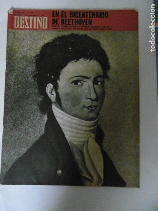 Coleccionismo de Revista Destino: REVISTA DESTINO - 49 REVISTAS - AÑO 1970 - FALTN LOS Nº 1711 Y 1718. - Foto 6 - 178287043