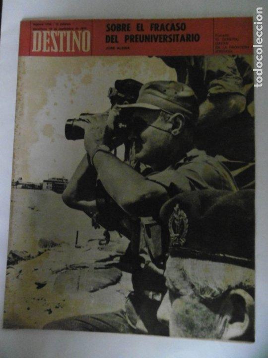 Coleccionismo de Revista Destino: REVISTA DESTINO - 49 REVISTAS - AÑO 1970 - FALTN LOS Nº 1711 Y 1718. - Foto 7 - 178287043