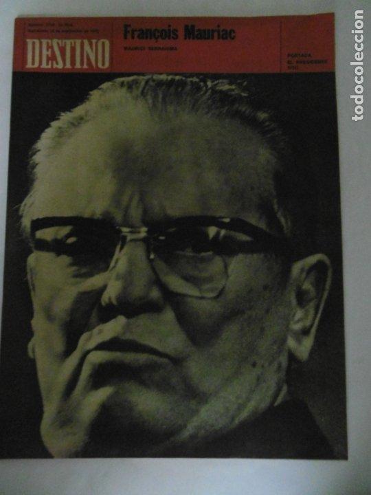 Coleccionismo de Revista Destino: REVISTA DESTINO - 49 REVISTAS - AÑO 1970 - FALTN LOS Nº 1711 Y 1718. - Foto 8 - 178287043