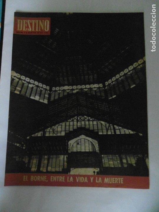 Coleccionismo de Revista Destino: REVISTA DESTINO - 49 REVISTAS - AÑO 1970 - FALTN LOS Nº 1711 Y 1718. - Foto 9 - 178287043