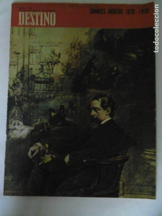 Coleccionismo de Revista Destino: REVISTA DESTINO - 49 REVISTAS - AÑO 1970 - FALTN LOS Nº 1711 Y 1718. - Foto 10 - 178287043