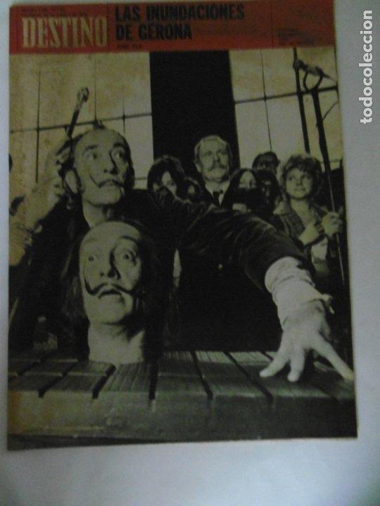 REVISTA DESTINO - 49 REVISTAS - AÑO 1970 - FALTN LOS Nº 1711 Y 1718. (Coleccionismo - Revistas y Periódicos Modernos (a partir de 1.940) - Revista Destino)