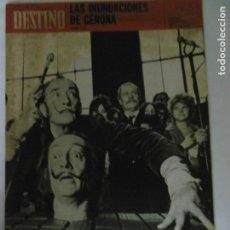 Coleccionismo de Revista Destino: REVISTA DESTINO - 49 REVISTAS - AÑO 1970 - FALTN LOS Nº 1711 Y 1718.. Lote 178287043
