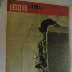 Coleccionismo de Revista Destino: REVISTA DESTINO - 38 REVISTAS DIFERENTES DEL AÑO 1971. Lote 178330826