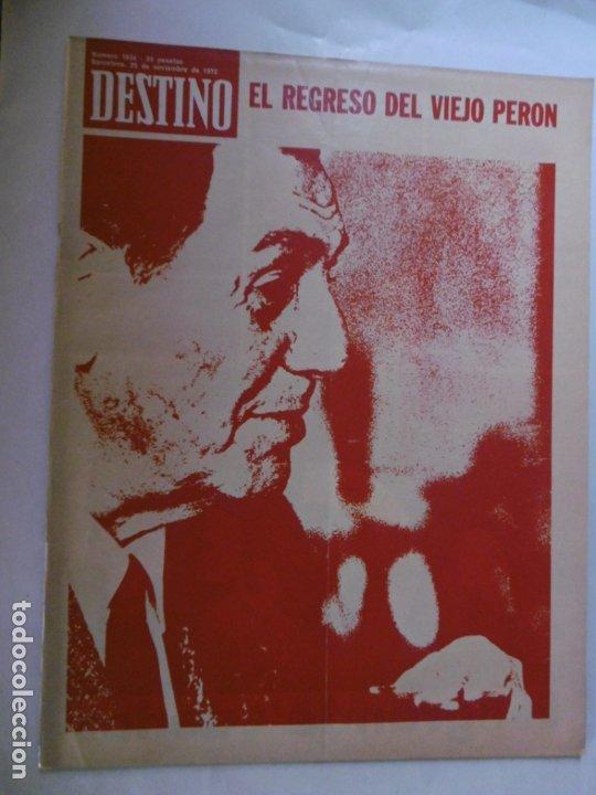 Coleccionismo de Revista Destino: REVISTA DESTINO - 36 REVISTAS DIFERENTES DEL AÑO 1972 - Foto 2 - 178331147