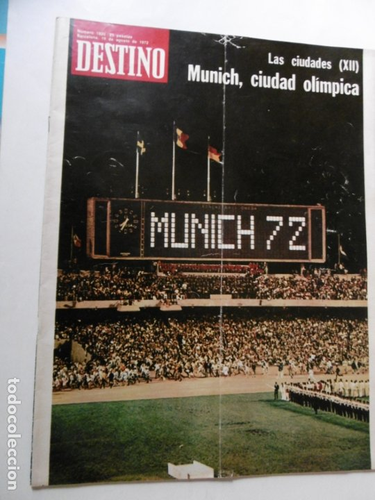 Coleccionismo de Revista Destino: REVISTA DESTINO - 36 REVISTAS DIFERENTES DEL AÑO 1972 - Foto 5 - 178331147