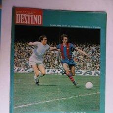 Colecionismo da Revista Destino: REVISTA DESTINO - Nº 1911 -1974 - EL BARÇA, EN LA CUMBRE. Lote 178368292