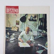 Coleccionismo de Revista Destino: OBRA MUERTE PICASSO, EXTRA ( DESTINO, REVISTA 1973 ). Lote 178557242