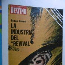 Coleccionismo de Revista Destino: REVISTA DESTINO - Nº 1993 - 1975 - LA INDUSTRIA DEL REVIVAL . Lote 178663315