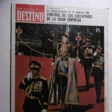 Coleccionismo de Revista Destino: REVISTA DESTINO - Nº 1946 - 1975 - EL SHA Y SU DELIRIO DE GRANDEZA. Lote 178664792