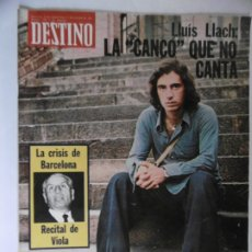 Coleccionismo de Revista Destino: REVISTA DESTINO - 1975 - 40 REVISTAS DEL AÑO 1975 DIFERENTES. Lote 178665071