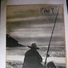 Collectionnisme de Magazine Destino: REVISTA DESTINO - Nº 887 - 1954 - CONTRALUZ EN LLAFRANC - VIAJE A AMERICA. Lote 178784658