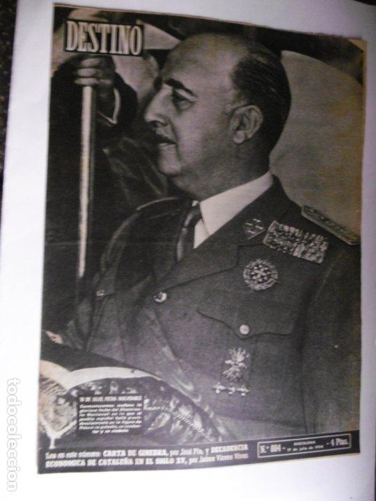Coleccionismo de Revista Destino: REVISTA DESTINO - 1954 - 25 REVISTAS DIFERENTES DEL AÑO 1954 - Foto 2 - 178786562