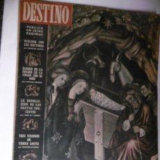 Coleccionismo de Revista Destino: REVISTA DESTINO - 1954 - 25 REVISTAS DIFERENTES DEL AÑO 1954. Lote 178786562