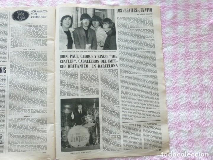 Coleccionismo de Revista Destino: The Beatles BARCELONA Revista Destino Julio de 1965 Excelente - Foto 5 - 178802041