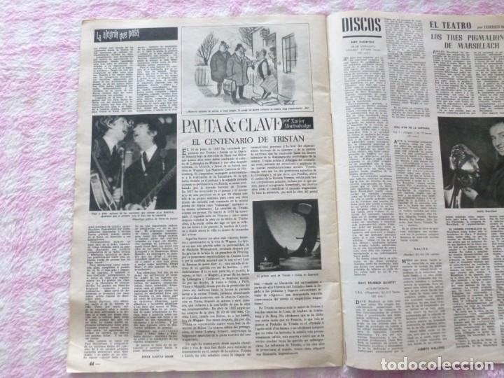 Coleccionismo de Revista Destino: The Beatles BARCELONA Revista Destino Julio de 1965 Excelente - Foto 6 - 178802041